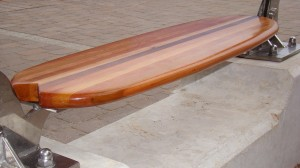 Surfboard Seat Handmade by Cornish Wooden Boat Company