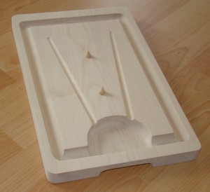 Meat Carving Cutting Boards Made from solid wood by Cornish Wooden Boat Company